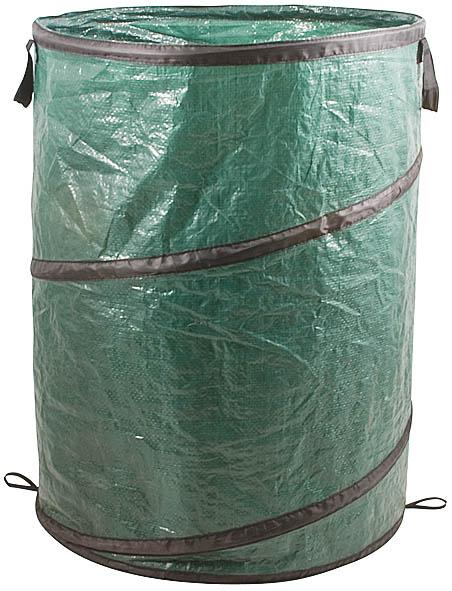 Контейнер садовый FIT, складной, 95 л77507Контейнер садовый FIT, складной предназначен для садовых хозяйственных нужд: хранения садового инвентаря, сбора листьев, травы, урожая. Благодаря складному каркасу, контейнер компактно складывается и занимает мало места при хранении. Характеристики: Материал: полипропилен, стальная проволока. Объем контейнера: 95 л. Размеры упаковки: 50 см х 2,5 см х 50 см.