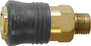 Адаптер быстросъемный FIT, М13 8115181151Адаптер быстросъемный с запорным клапаном FIT универсального типа предназначен для соединения с пневматической линией, инструментом, компрессором. Совместим с ниппелями всех типов. Характеристики: Материал: латунь, пластик. Внутренняя резьба: М13. Шаг резьбы: 1,5 мм Под ключ: S = 19 Размер: 2,5 см х 2,5 см х 5 см. Размер упаковки: 7 см х 2,5 см х 12 см