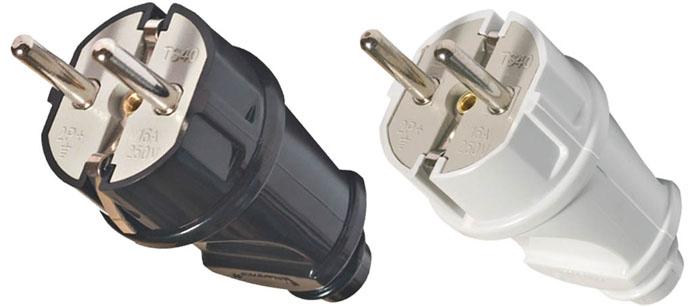 Вилка электрическая прямая UNIVersal с заземлением, 16 А, 250 В, цвет: белый, 90 мм. 8331183311Вилка электрическая UNIVersal предназначена для присоединения (разъединения) к электрической сети различных электрических приборов бытового назначения, позволяют произвести ремонт электрошнура в случае выхода из строя или повреждения неразборной вилки. Характеристики: Материал: ABS пластик. Размеры вилки: 9 см x 3,5 см x 3,5 см. Размер упаковки: 17,5 см x 9 см x 4 см.