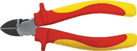 Бокорезы FIT,ЭЛЕКТРО 160 мм, до 1000 В50781Бокорезы FIT предназначены для резки провода из меди, алюминия и других цветных металлов. Изделие изготовлено из хром-ванадиевой стали и оснащено удобными эргономичными рукоятками. Режут провода под напряжением до 1000 В. Характеристики: Материал: хром-ванадиевая сталь, резина. Длина: 16 см. Размер упаковки: 24 см х 6,5 см х 3 см.