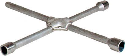 Ключ баллонный крестообразный FIT, 17 мм, 19 мм, 21 мм62760Крестообразный баллонный ключ FIT применяют для установки и демонтажа колес. Благодаря крестовидной форме, ключ позволяет прикладывать максимальное усилие. Характеристики: Материал:Размер головок: 17 мм, 19 мм, 21 мм Размер упаковки: 38 см х 38 см х 3 см.