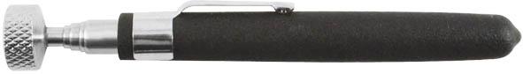 Магнит телескопический FIT, 16,5-63,5 см64780Магнит телескопический FIT используется извлечения различных деталей, выполненных из металлов на основе железа. Инструмент оснащен телескопическим механизмом, позволяющим удлинять приспособление для более удобной работы. Характеристики: Материал: инструментальная сталь, ручка с ПВХ покрытием. Размер магнита: 16,5 см х 1,5 см х 1,5 см. Максимальная длина: 63,5 см. Размер упаковки: 23 см х 6 см х 2 см.