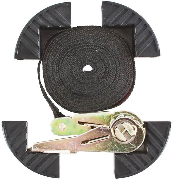 Ремень багажный Fit с замком, 25 мм х 5 м64910Ремень багажный Fit с замком используется для фиксации грузов при перевозке. Изготовлен из прочных синтетических волокон. Характеристики:Размер: 25 мм х 500 мм. Максимальная нагрузка: 1250 кг. Размер упаковки: 18,5 см х 24 см х 4 см.