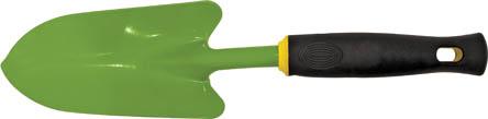 Совок посадочный FIT широкий, 360 мм. 7702077020Посадочный совок FIT имеет широкое рабочее полотно, с помощью которого легко перемешивать сыпучие вещества для посадки растений. Данный инструмент изготовлен из углеродистой стали с напылением из ПВХ, что обеспечивает высокую прочность и долговечность данного инструмента. Характеристики: Материал: сталь, ПВХ, резина. Размеры совка: 36 см x 8,5 см x 4 см. Размер упаковки: 38 см х 9 см х 4 см.