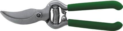 Садовый секатор FIT, с лезвиями внахлест предназначен для подравнивания и формирования крон деревьев. Подойдет также для обрезки сухих веток в саду или на дачном участке. Лезвие изготовлено из прочной инструментальной стали, поэтому инструмент при правильной эксплуатации прослужит долгое время. Характеристики: Материал: сталь, ПВХ. Размер секатора: 20 см x 5 см x 1,5 см. Размер упаковки: 26 см x 8 см x 2 см.