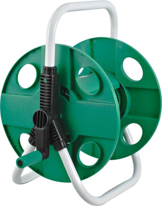 Катушка для шланга малая FIT, для шланга 1/2, 45 м 7727277272Малая катушка для шланга на FIT предназначена для хранения и транспортировки поливочных садовых шлангов диаметром 1/2 - длиной до 45 м или 3/4-30 м. Благодаря катушке шланг не будет перекручиваться во время намотки. Оптимально расположенная ручка позволит быстро намотать шланг на катушку, не прилагая лишних усилий.Дополнительную устойчивость и надежность инструменту обеспечивает опорная рама. Благодаря металлическому каркасу катушка прослужит долгое время при правильной и бережной эксплуатации. Характеристики:Материал:металл, пластик. Диаметр катушки:30,5 см. Размеры катушки: 38,5 см x 31 см x 42,5 см. Размер упаковки: 31 см x 32 см x 9 см.