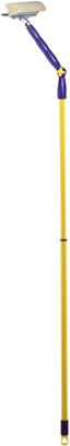 Стекломойка Apex Squizzo, с регулируемым наклоном и телескопической ручкой, цвет: желтый, фиолетовый, 95-145 см20674-AСтекломойка Apex Squizzo с мягкой поролоновой губкой и резиновым скребком станет незаменимым помощником при уборке. Ее можно использовать для мытья стекол как дома, так и в автомобиле.Удобная рукоятка выполнена из окрашенного металла и имеет телескопическую форму, а также снабжена отверстием на конце для подвеса. Рукоятку можно регулировать и фиксировать до нужной вам длины, а также можно выбрать угол наклона рабочей части, которая поворачивается на 360°. Оригинальная, современная и удобная стекломойка сделает уборку эффективнее и приятнее.Размер губки: 25 см х 4,5 см х 5,5 см.Минимальная длина ручки: 95 см.Максимальная длина ручки: 145 см.