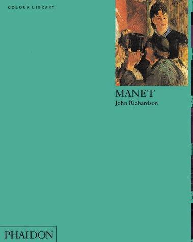 Manet (Phaidon Colour Library) holbein colour library