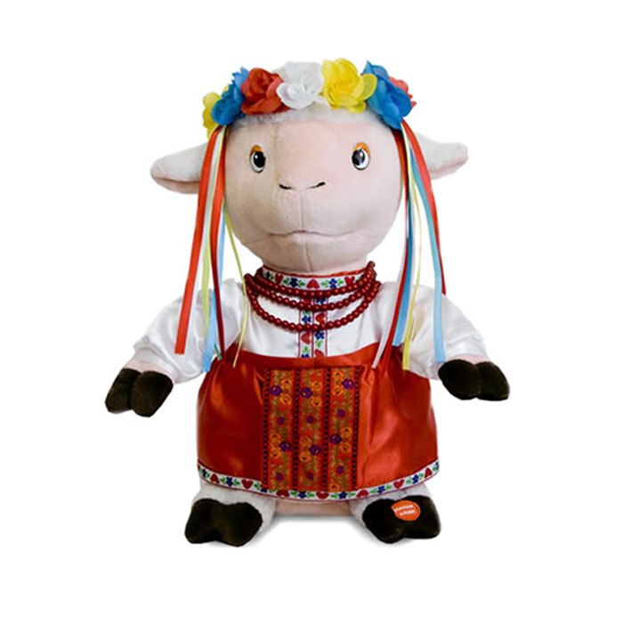 Анимированная игрушка Синеокая певунья, 29 см украинский национальный костюм для девочки киев