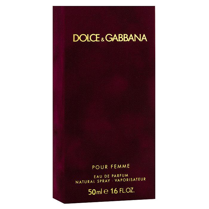 Dolce & Gabbana Парфюмерная вода Pour Femme, 50 мл