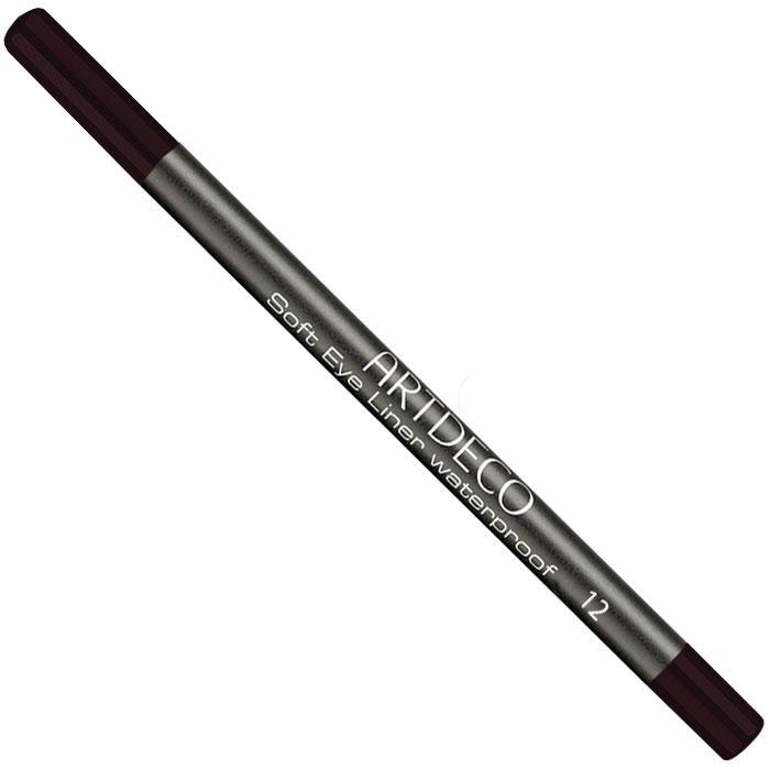 Artdeco Карандаш для век водостойкий Soft Eye Liner Waterproof, тон №12, 1,2 г косметические карандаши artdeco карандаш для век водостойкий 23 1 2 г