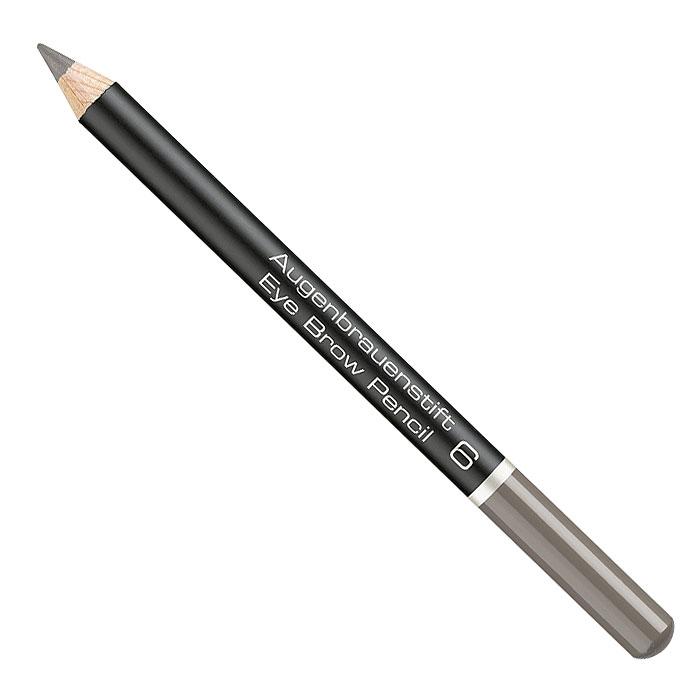 Artdeco Карандаш для бровей Eye Brow Pencil, тон №6, 1,1 г22.04Карандаш для бровей Artdeco Eye Brow Pencil помогает придать законченность макияжу, сделать лицо более выразительным. Сбалансированная формула, содержащая экстракт пальмовых косточек придает текстуре необходимую эластичность. Грифель карандаша имеет среднюю жесткость, и позволяет контролировать нанесение и интенсивность линий. Характеристики:Вес: 1,1 г. Тон: №6. Производитель: Германия. Артикул: 280.6. Товар сертифицирован.Как создать идеальные брови: пошаговая инструкция. Статья OZON Гид