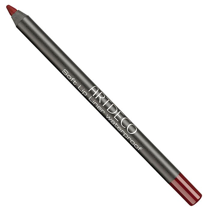 Artdeco Карандаш для губ водостойкий Soft Lip Liner Waterproof, тон №08, 1,2 г172.08Мягкий водостойкий карандаш для губ Artdeco Soft Lip Liner Waterproof обладает высоко-пигментированной формулой, которая содержит натуральные антиоксиданты. Приятная кремообразная консистенция карандаша наносится легко и гладко, быстро фиксируется. Прекрасная находка для комбинированной, склонной к жирности кожи. Он будет незаменим при занятиях спортом и на отдыхе. Характеристики:Вес: 1,2 г. Тон: №08. Производитель: Германия. Артикул: 172.08. Товар сертифицирован.
