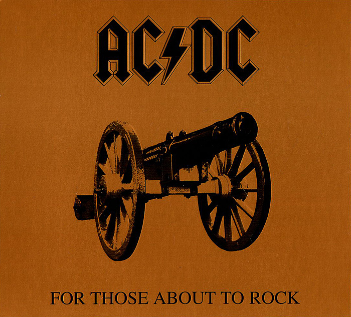 AC/DC AC/DC. For Those About To Rock ac dc ac dc let there be rock lp