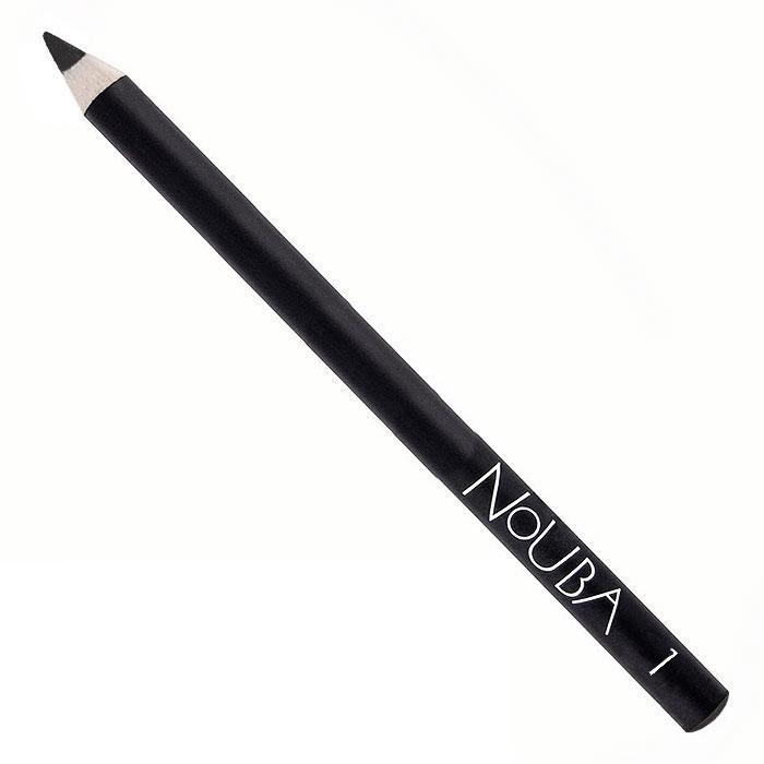 Nouba Карандаш для век Eye Pencil, тон №01, 1 гN02201Классический карандаш для век Nouba Eye Pencil создает идеальные стрелки и четкие контуры. Его волшебные цвета с потрясающе устойчивым эффектом держатся в течение всего дня. Карандаш идеально подходит для чувствительных глаз. Пальмовое масло, глицерин - смягчает, увлажняет; Карнаубский, канделийский воски - устойчивость, легкое нанесение. Характеристики:Вес: 1 г. Тон: №01. Производитель: Италия. Артикул: N02201. Товар сертифицирован.