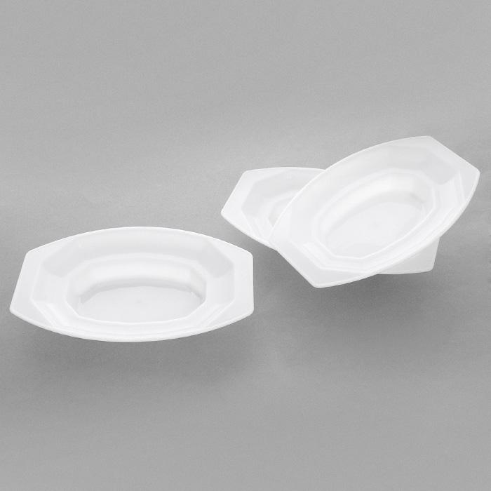 Набор форм для запекания картофеля House & Holder 3шт, цвет: белый 6407964079Набор форм House & Holder, выполненный из пластика белого цвета, состоит из трех контейнеров и станет очень полезным аксессуаром на вашей кухне. В этой вместительной форме для запекания картофеля изысканные и вкусные гарниры готовятся очень легко. Благодаря рифленой внутренней поверхности на картофельной корочке остаются полоски, которые придают ему аппетитный вид. Функциональность набора House & Holder позволит занять ему достойное место среди вашего кухонного инвентаря. Характеристики:Материал: пластик. Цвет: белый. Размер формы: 18 см х 11 см х 3 см. Комплектация: 3 шт. Артикул: 64079.