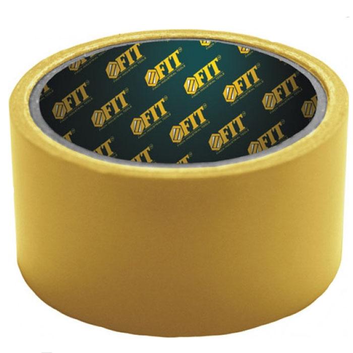 Скотч строительный Fit, двусторонний, 48 мм х 25 м11825Скотч строительный Fit, двусторонний применяется для фиксации стыков ковровых покрытий, склеивания различных поверхностей. Характеристики: Размеры: 4,8 см х 2500 см. Размеры упаковки: 11,5 см х 5 см х 11,5 см.