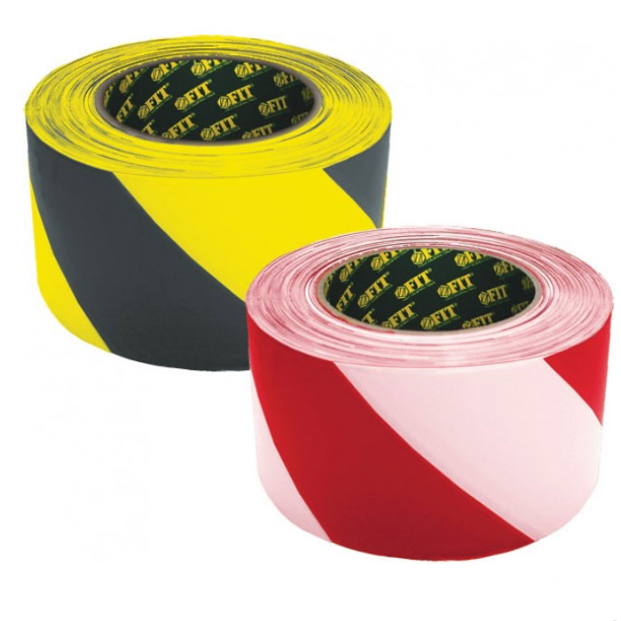Лента разметочная Fit, самоклеящаяся, цвет: черно-желтый, 50 мм х 25 м11859Лента разметочная Fit имеет клеящийся слой с высокой адгезией к различным поверхностям. Устойчива к истиранию, влагостойкая. Для разметки ступеней, пола и обозначения опасных зон. После снятия не оставляет следов. Характеристики: Размеры: 5 см х 2500 см. Размеры упаковки: 10,5 см х 5 см х 10,5 см.