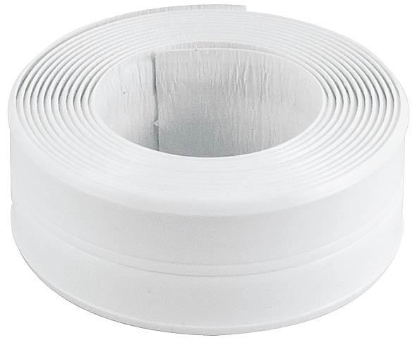 Лента бордюрная Fit, самоклеящаяся, водостойкая, цвет: белый, 20 мм х 20 мм х 3,35 м11656Лента бордюрная Fit, самоклеющаяся используется для герметизации и декорирования стыков между стеной и ванной или раковиной. Возможен изгиб ленты по середине. Характеристики: Размеры ленты: 4 см х 3,35 м. Размеры упаковки: 13 см х 16 см х 4,5 см.