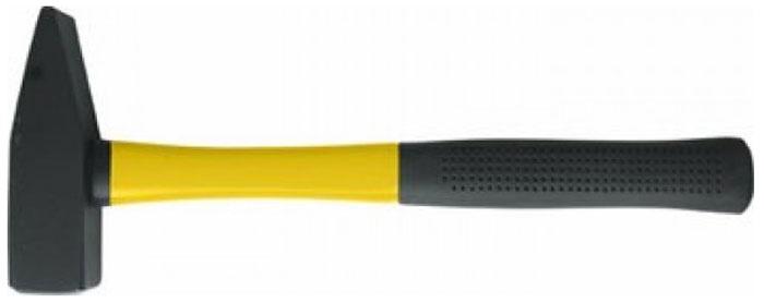 Молоток фиброглассовый Контрфорс, 600 г115186Молоток Контрфорс имеет два разных бойка - один ровный, другой сужающийся. Молоток имеет удобную фиберглассовую ручку усиленную пластиком. Применяется для гибки металла, вбивания гвоздей, осадки шпонок. Острой стороной можно забивать маленькие гвозди. Характеристики: Материал: сталь, пластик. Длина ручки: 31,5 см. Размеры упаковки: 34,5 см х 12 см х 3 см.