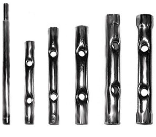 Набор трубчатых ключей FIT, 10 шт63740Набор трубчатых ключей FIT предназначен для монтажа/демонтажа резьбовых соединений. Широко используется для ремонта автомобилей и в автосервисах.В набор входят ключи на 6 х 7 мм, 8 х 9 мм, 10 х 11 мм, 12 х 13 мм, 14 х 15 мм, 16 х 17 мм, 18 х 19 мм, 20 х 22 мм. Характеристики: Материал: сталь. Размер упаковки: 19 см х 22 см х 3 см.