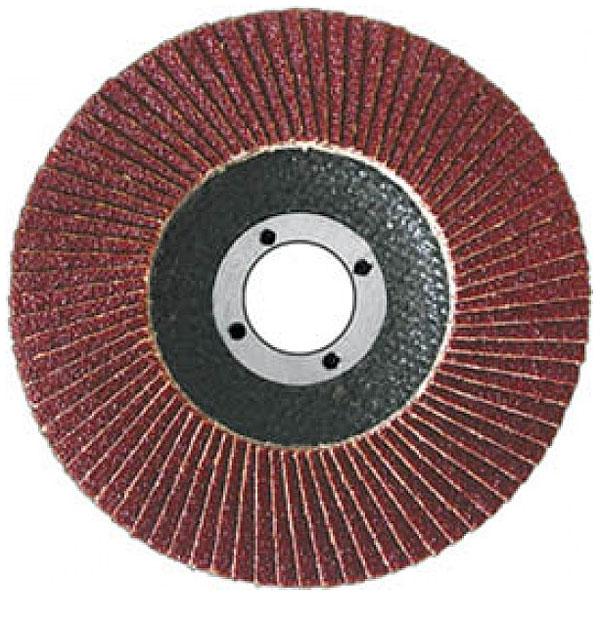 Диск наждачный FIT, лепестковый, 125 мм, Р80 39554 FIT