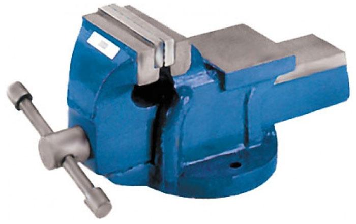 Тиски станочные, неповоротные Fit, 100 мм59610Станочные неповоротные тиски Fit незаменимы при проведении ремонтных и обслуживающих работ. Конструкция изготовлена из прочного металла (чугунное литье), что обеспечивает надежность при эксплуатации и долгий срок службы. Для прижима детали применяется винтовой механизм, управляемый перемещающимся рычагом. Характеристики: Материал: чугун. Ширина губок: 100 мм. Вес: 6,5 кг. Размер в упаковке: 25 см х 12 см х 12,5 см.