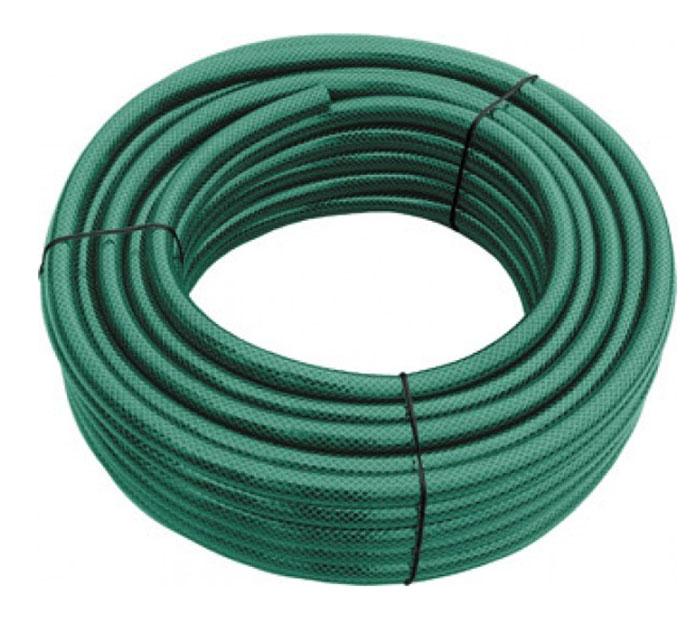 Шланг поливочный FIT армированный, 3/4 x 2,5мм, 50 м. 7728877288Поливочный шланг FIT предназначен для подачи воды к месту полива. Долговечный 3-слойный шланг из полиэстера имеет сетчатое армирование полиамидной нитью, что препятствует скручиванию и изломам. Безопасен для окружающей среды и здоровья человека за счет отсутствия в его составе вредных токсичных веществ, таких как кадмий, барий, свинец. Устойчив к воздействиям внешней среды, таким как: абразивный износ и образование водорослей на внутренней поверхности. Имеет длительный срок эксплуатации, не обесцвечивается, не теряет форму со временем. Используется при температуре от 0 до +50С. Характеристики:Материал:пластик. Длина шланга:50 м. Диаметр шланга:1,9 см. Максимальное рабочее давление:16 атм. Размер упаковки: 41 см x 41 см x 22 см.