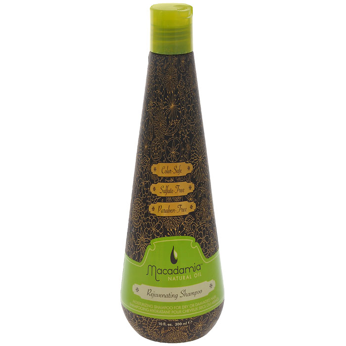 Macadamia Natural Oil Шампунь для волос восстанавливающий, с маслом арганы и макадамии, 300 млММ1Шампунь Macadamia Natural Oil нежно очищает, восстанавливает баланс влажности и защищает волосы от неблагоприятных факторов окружающей среды. Шампунь подходит для ежедневного применения. Не содержит в своем составе сульфатов и парабенов. Не вымывает цвет окрашенных волос, сохраняя его яркость и насыщенность. Характеристики:Объем: 300 мл. Производитель: США. Товар сертифицирован.