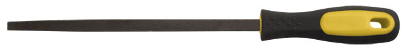 Напильник по металлу FIT, полукруглый, 200 мм42591Напильник по металлу FIT с личной насечкой изготовлен из высококачественной инструментальной стали. Эргономичная двухкомпонентная ручка, будет удобна при работе с инструментом и не позволит ему выскользнуть из рук. Характеристики: Материал:сталь, пластик, резина. Длина напильника:20 см. Длина ручки: 11 см. Размер упаковки: 31 см х 5 см х 3,5 см.