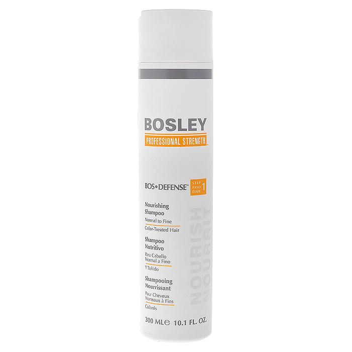 Bosley Шампунь питательный, для нормальных, тонких и окрашенных волос, 300 мл bosley pro набор для волос шампунь и кондиционер для нормальных тонких окрашенных волос 300 300 мл