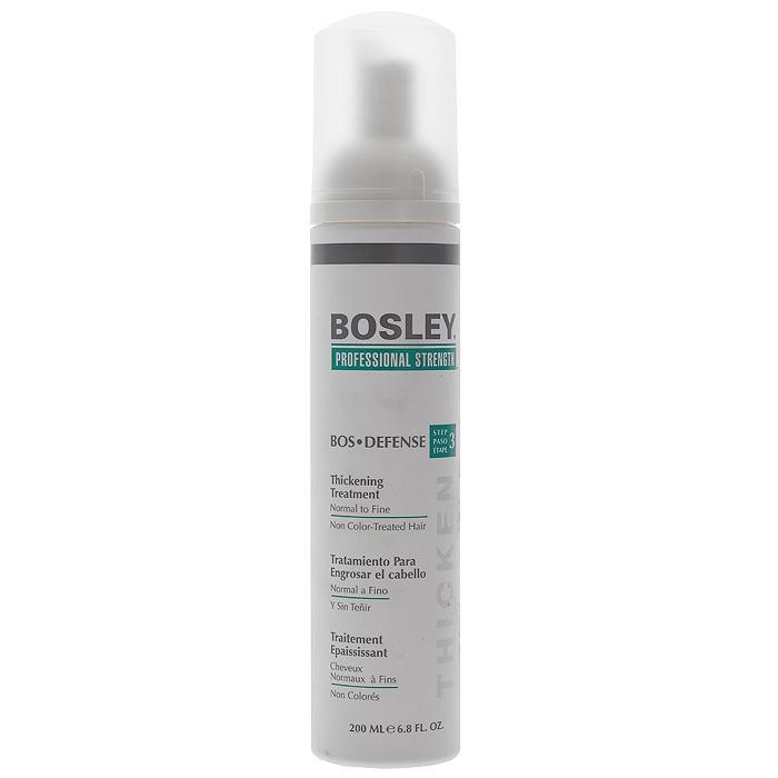Bosley Уход, увеличивающий густоту нормальных, тонких и неокрашенных волос, 200 мл