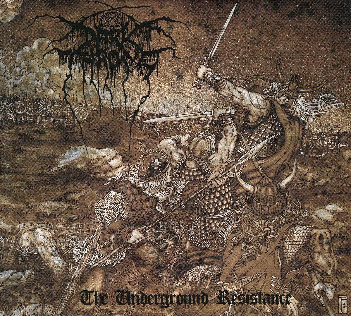 Darkthrone Darkthrone. The Underground Resistance darkthrone darkthrone goatlord deluxe edition 2 cd
