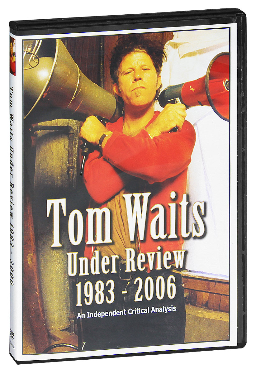Tom Waits Under Review 1983-2006 is an 80 minute documentary film, which looks at this extraordinary musician and performer's music during that period. After Waits' marriage to Katherine Brennan in 1980, his music became more experimental, challenging and left field, but without any compromise of his craft - the songs were better than ever. Through album after album during the 1980s, the 1990s and the 2000s, Waits stunned his audience time and again.This program looks again at these records, and the man who made them, and in doing so provides the most enlightening, revealing and downright entertaining Tom Waits documentary yet to emerge. Features Include:  Tom Waits performances re-assessed by a panel of esteemed experts Rare interviews, seldom seen footage and unusual photographs from the period Review, comment and criticism from; Waits producer Bones Howe; Tom Waits' official biographer, Patrick Humphries; ex-editor of Rolling Stone magazine, Anthony DeCurtis; Village Voice music editor, Robert Christgau; highly respected British music journalist and author, Barney Hoskins (Mojo, NME); Uncut magazine's Nigel Williamson; Time Out magazine music editor Andrew Mueller, and musician and author Chris Roberts Footage of and comment on, Waits' most notable musical influences during the period Live and studio recordings of Waits classics such as; Downtown Train, In The Neighbourhood, Straight To The Top, Innocent When You Dream, Earth Dies Screaming, Clap Hands, Alice, Hoist That Rag and many others