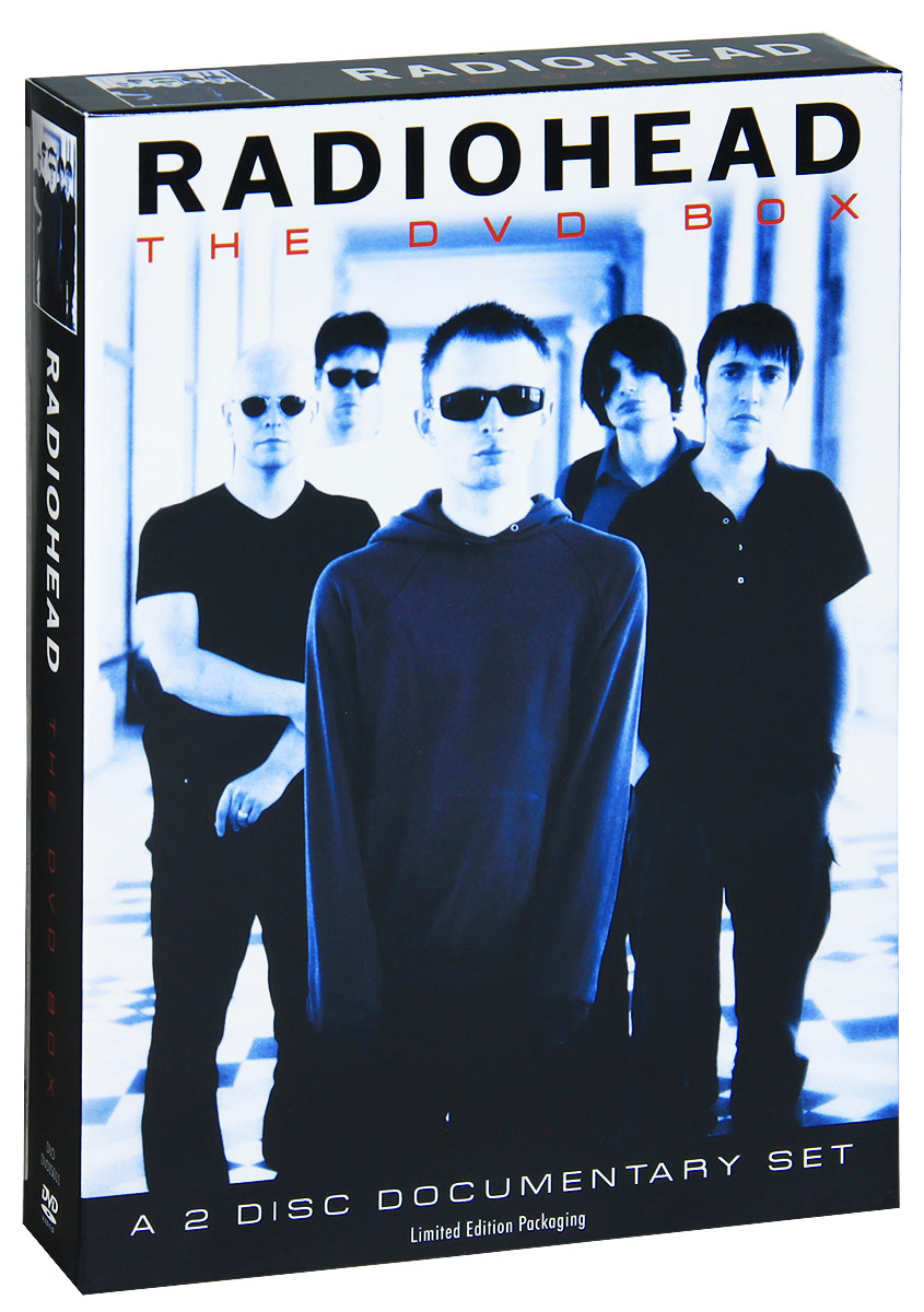 Radiohead: The DVD Box (2 DVD) моана dvd