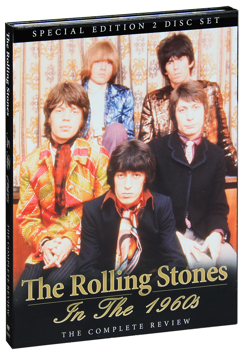Formed in 1962 and still a top live draw almost 50 years on, The Rolling Stones are surely the most unique act of the Rock age, still performing dynamic shows and regularly recording new material that stands up as well as anything the competition has to offer. But the period in which the Stones' star shone brightest was undoubtedly during the 1960s, when barely a month would go by without a classic new single, a majestic new album or a news story telling of yet more bad behaviour from the boys! This 2 DVD set explores the fascinating story and extraordinary songs of the UK's most treasured musical asset, as it takes a detailed look at their career throughout the most electric period of their history. Featuring contributions from an enormous list of friends, associates and contemporaries and with comment, insight and critique from some of rock's most respected journalists, and including rare band footage, archive interviews, news reels from the era, locations shoots, unseen photographs and a host of other features, this beautifully packaged DVD set is amongst the very finest films about this truly exceptional band. Featuring tracks such as; Come On, Not Fade Away, Little Red Rooster, The Last Time, Satisfaction, Ruby Tuesday, Jump in Jack Flash, Sympathy For The Devil, Gimme Shelter and many others.
