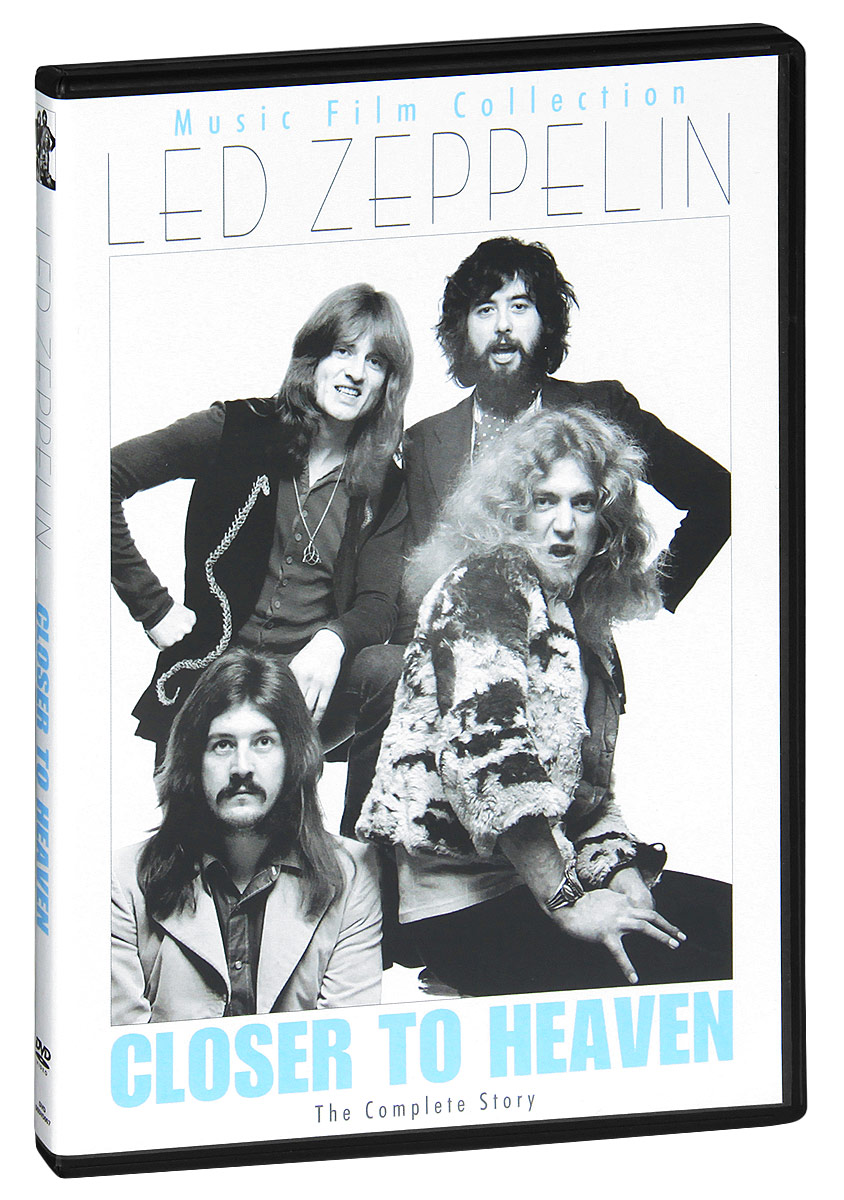 The influence of Led Zeppelin cannot be underestimated. The indelible stamp they have left on the world's musical landscape has acted as a catalyst for countless rock groups that have followed since, and their legacy resonates as loudly today as it ever has. Led Zeppelin's staggering body of work acts as a template for the entire rock genre and each album they recorded is still rightfully hailed a classic. On Led Zeppelin: Closer To Heaven the group and their music are put under the microscope and with the aid of band footage, exclusive interviews, obscure photographs, location shoots and many other features, makes for the best documentary film on the band yet to emerge.  Features exclusive interviews with close friends and colleagues of the band including Chris Drejaand Jim McCarty from The Yard birds.  Contributions from those around at the time, including Zep's PR manager, their tour promoter and many other musicians with whom they played.  Rare band footage and obscure photos.  Review, criticism, opinion and insight from the world's leading Led Zeppelin experts.  Extra features include interactive gaming feature 'the hardest Led Zeppelin quiz in the world ever'and digital Led Zeppelin discography.
