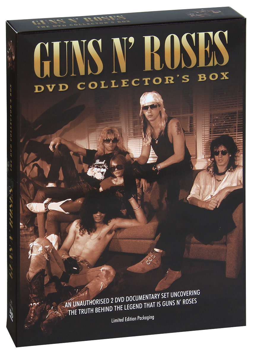 Guns N' Roses: The DVD Collectors Box (2 DVD) видеодиски нд плэй экстрасенсы dvd video dvd box
