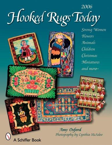 Hooked Rugs Today: Strong Women, Flowers, Animals, Children, Christmas, Miniatures, and More - 2006 fishes in the sea pattern floor area rug