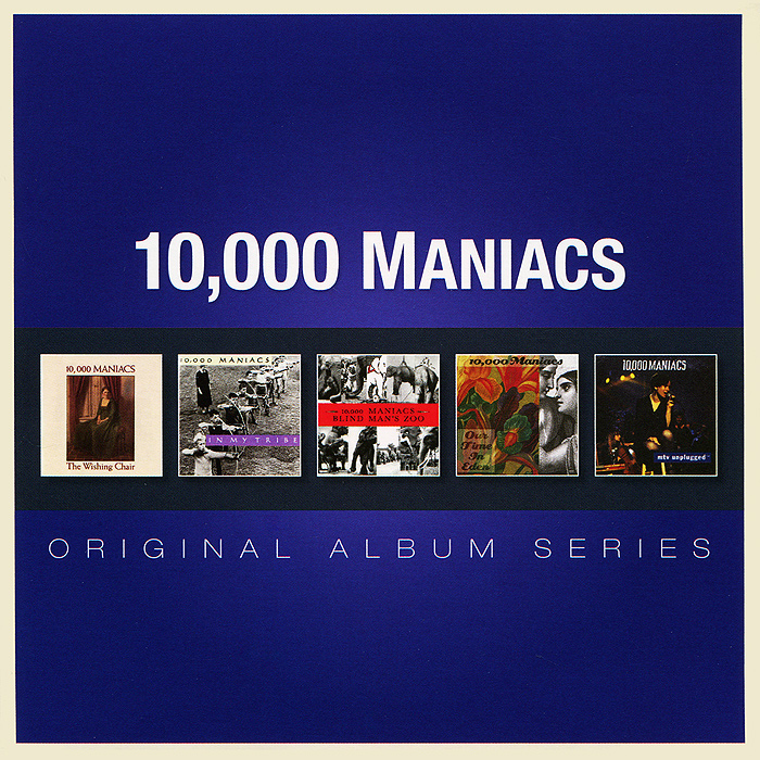 10,000 Maniacs Original Album Series. 10,000 Maniacs (5 CD) original airtac compact slide cylinder roller bearing hls series hls12x100s