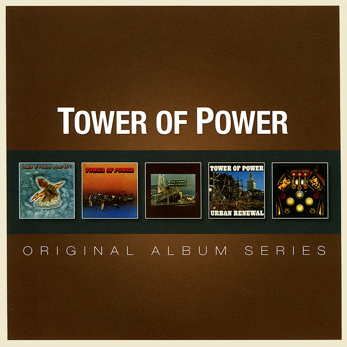 Tower Of Power Original Album Series. Tower Of Power (5 CD) rhino