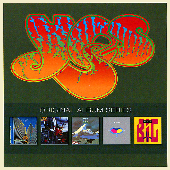 Yes Original Album Series. Yes (5 CD) yes – the yes album lp