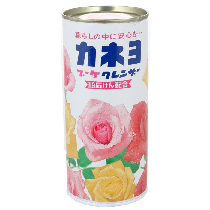 Порошок чистящий Kaneyo, с ароматом цветов, 400 г210056Чистящий порошок Kaneyo с приятным цветочным ароматом предназначен для мытья и чистки посуды, кухонной утвари, кухонных плит, раковин и других поверхностей на кухне и в ванной комнате.Благодаря особому моющему составу, порошок без особых усилий справляется даже со стойкими загрязнениями.Устраняет неприятные запахи и размножение микробов. Средство не применяется для: стеклянных и зеркальных поверхностей, лакированных изделий, изделий из кожи, драгоценных металлов, керамики и фарфора с металлическими вкраплениями, изделий из камня. Характеристики:Вес: 400 г. Артикул: 210056. Товар сертифицирован.