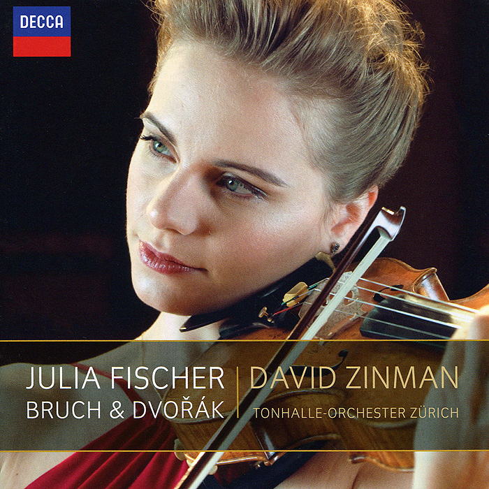 Фото - Джулия Фишер,Дэвид Зинман,Tonhalle Orchester Zurich Julia Fischer, David Zinman, Tonhalle-Orchester Zurich. Bruch / Dvorak. Violin Concertos max raabe and palast orchester wuppertal