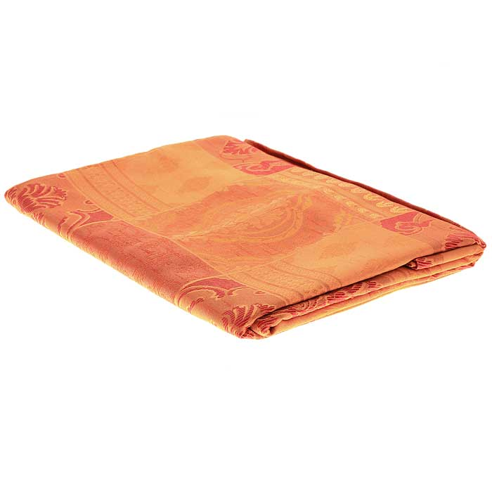 Гардина Schaefer на петлях, цвет: оранжевый, 140 см х 250 см. 06613-605 космический песок 1кг розовый набор песочница и формочки т58573