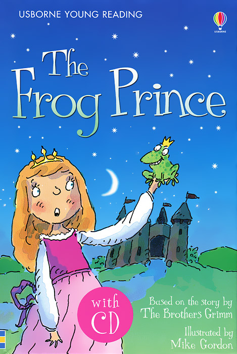 The Frog Prince (+ CD) the princess and the frog level 1 cd rom