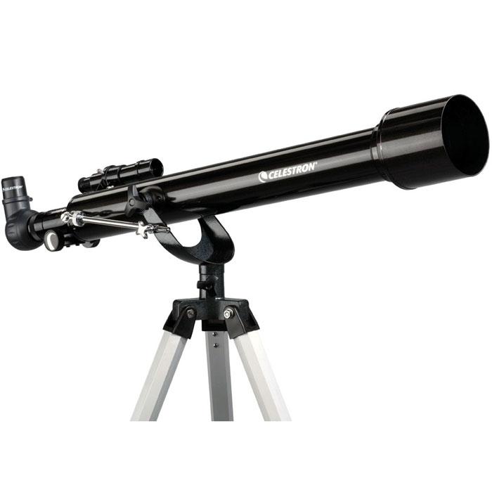 Celestron PowerSeeker 60 AZ телескоп-рефракторC21041Телескоп Celestron PowerSeeker 60 AZ обладает необходимым для начинающего наблюдателя набором базовых функций. Теперь, с помощью этого телескопа Вы сможете познакомить своего ребенка со звездным небом, не тратя на оборудование астрономические суммы.Во всех инструментах серии PowerSeeker используются только стеклянные объективы, имеющие большое преимущество перед пластиковыми линзами, используемыми в телескопах начального уровня некоторых других производителей. Для улучшения пропускания света на оптические элементы нанесено эффективное просветляющее покрытие.
