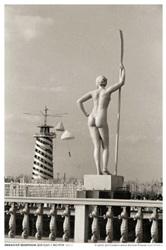 Эммануил Евзерихин. Девушка с веслом. 1930-е гг. (20*30) мария жукова гладкова хрупкая женщина с веслом