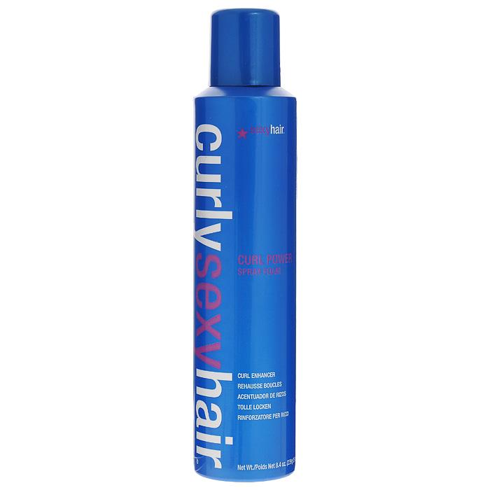 Sexy Hair Спрей Curly для усиления кудрей, 250 млКУ1Спрей Sexy Hair Curly невероятно увеличивает количество кудрей при укладке. Обеспечивает эластичную фиксацию локонов с эффектом продолжительного действия. Подходит для тонких и средних волос. Создает пружинящие, естественные кудри. Содержит протеины пшеницы и провитамин B5 для укрепления волос. Поддерживает форму локонов и защищает от появления мелкого беса. Характеристики:Объем: 250 мл. Производитель: США. Товар сертифицирован.