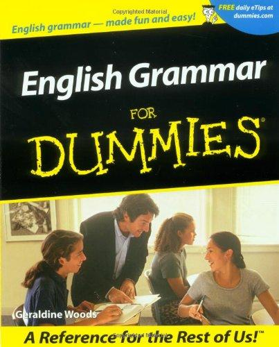 English Grammar For Dummies cobuild elementary english grammar